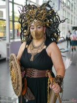 Medusa - Photo by Geeks are Sexy at Quebec City ComicCon 2021