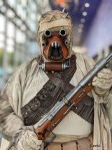 Tusken Raider - Photo by Geeks are Sexy at Quebec City ComicCon 2021