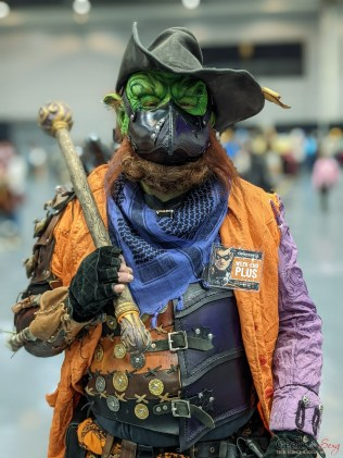 Goblin - Photo by Geeks are Sexy at Quebec City ComicCon 2021