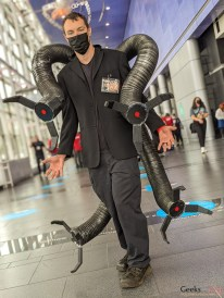 Doctor Octopus - Photo by Geeks are Sexy at Quebec City ComicCon 2021