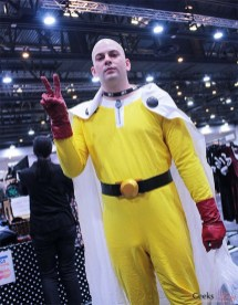One Punch Man - Photo by Geeks are Sexy at Quebec City ComicCon 2021