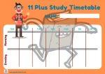 Free 11 Plus Timetable
