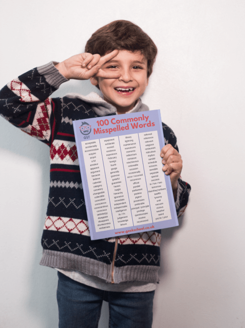 Commonly misspelled words for key stage 2 pdf