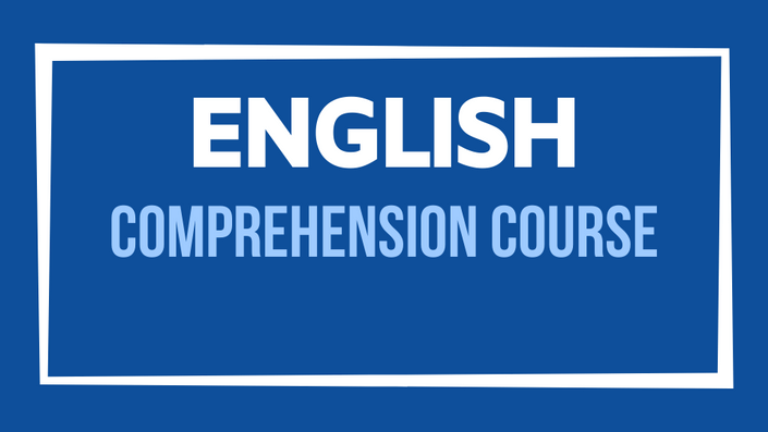 English Comprehension Course for The 11 Plus