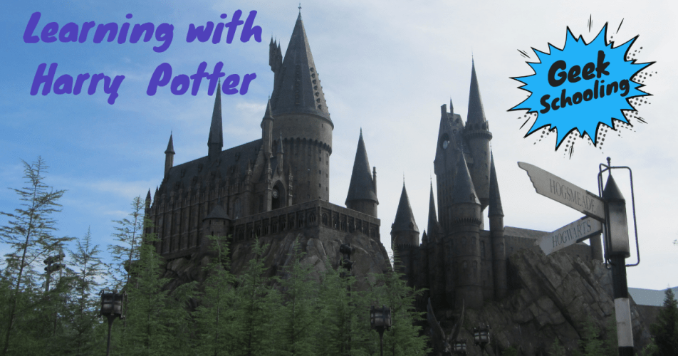 learning with harry potter - hogwarts castle