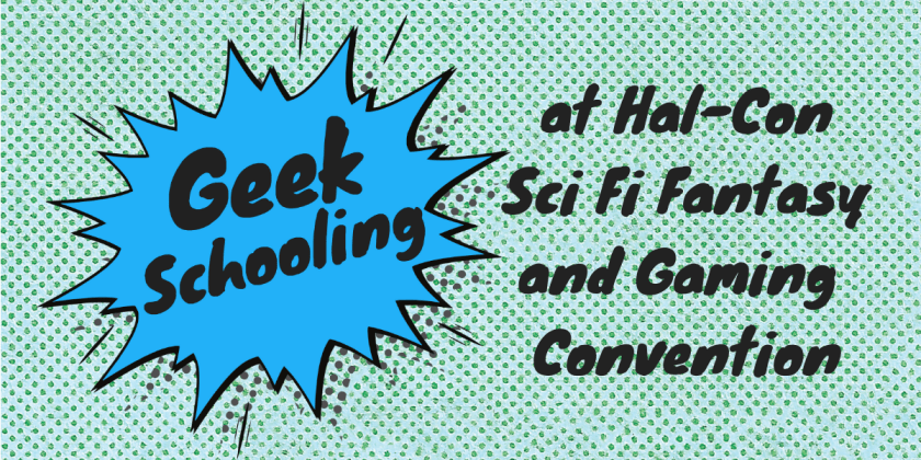 geek schooling at hal-con