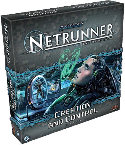 Creation and Control deluxe expansion set for Android Netrunner
