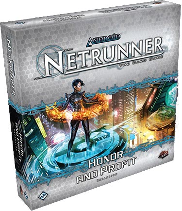 Honor and Profit deluxe expansion set for Android Netrunner