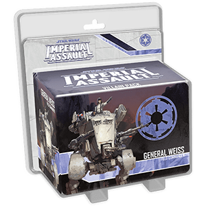Star Wars Imperial Assault - General Weiss Villain Pack