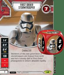 Star Wars Destiny - First Order Stormtrooper