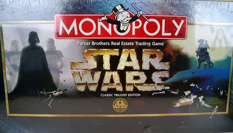 Star Wars Classic Trilogy Monopoly