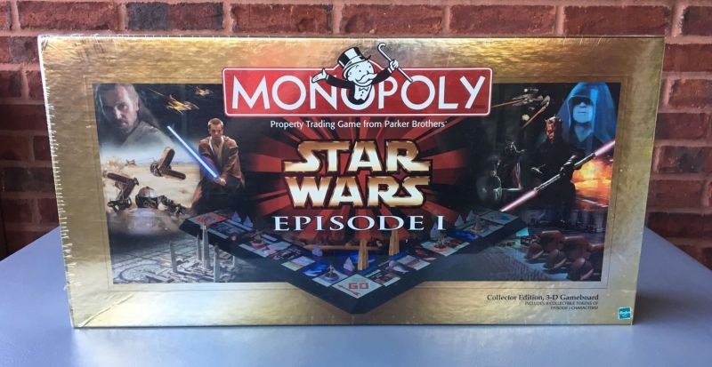 Star Wars Episode 1 Monopoly - 3D Collectors Edition