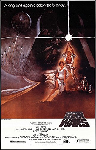 Star Wars Episode 4 Classic Movie Poster