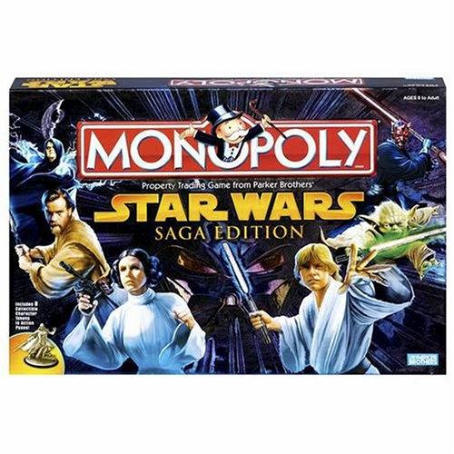 Star Wars Saga Edition Monopoly