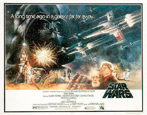 Star Wars Movie Poster - Episode 4 A New Hope