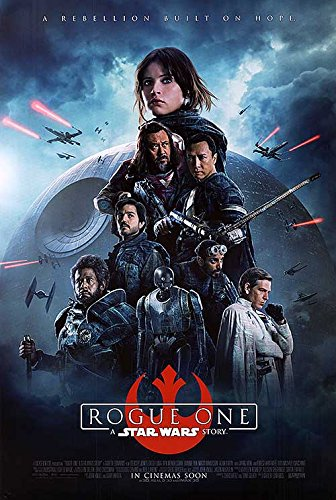 Star Wars Rogue One Theatrical Release Movie Poster 2