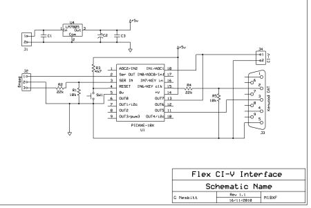 Flex CI-V Interface_v0.1