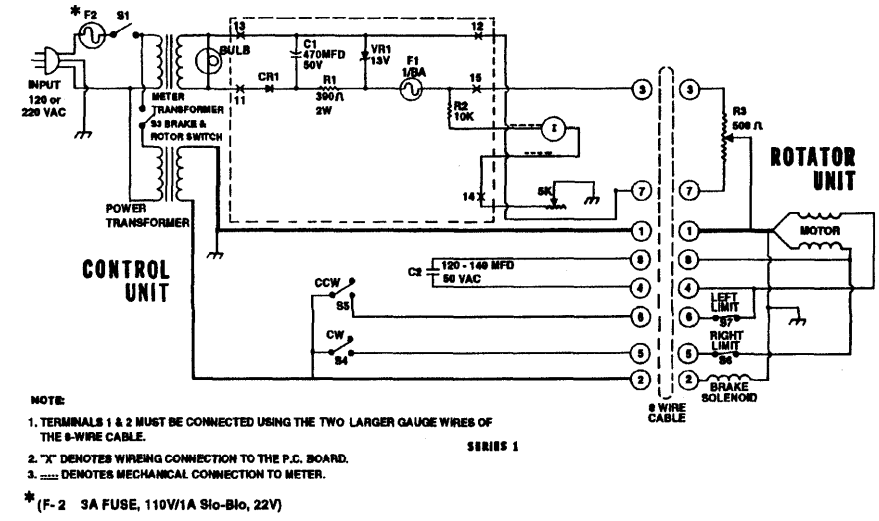 ham iv rotor repair wiring diagrams repair wiring scheme diagram ham wiring qc10escb