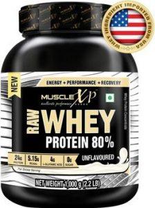 MuscleXP Raw Whey Protein