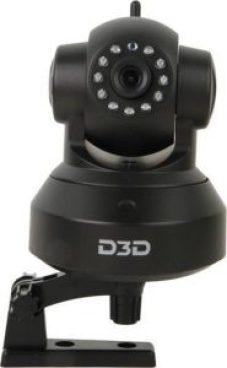 D3D D8810 HD 720P Wi-Fi Home Security Camera PTZ 360