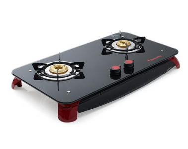 Butterfly Signature Glass 2 Burner Best Gas Stoves