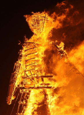 Yes, this is Burning Man