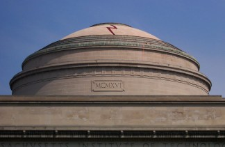 Harry Potter scar on Great Dome at MIT