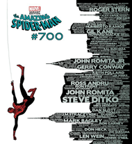 Spider-Man Issue #700 cover