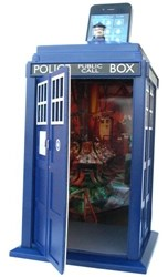 TARDIS cellphone controlled personal safe