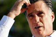 Mitt Romney puzzled