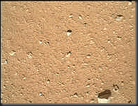 Mars Curiosity Rover picture with camera cover off
