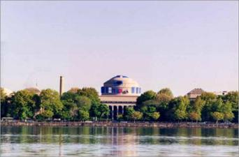 Star Wars R2D2 on Great Dome at MIT