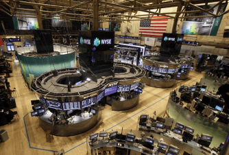 New York Stock Exchange (NYSE) was closed as the storm approaches