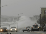 Huge waves in New Jersey