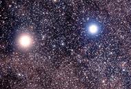 Alpha Centauri A and B stars
