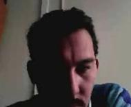 Video footage showing aleged Russian hacker