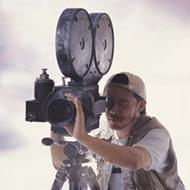 Filming cameraman