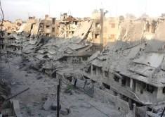 Syria Civil War damage