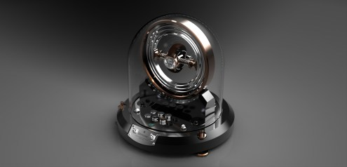 Gyrowinder gyroscopic watch winder