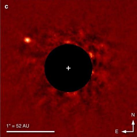 """L-Band image of """"Super Jupiter"""" planet"""