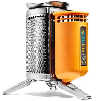 BioLite portable stove