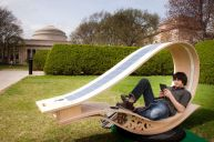 MIT solar-powered Soft Rocker chair