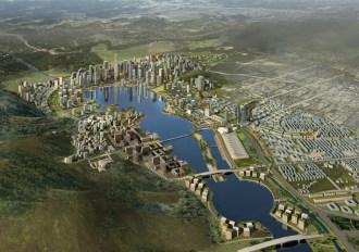 China's Changsha, Meixi city project
