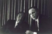 Marin Luther King Jr. and Marlon Brando (Godfather)