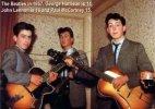 The Beatles, George Harrison (14), John Lennon (16), Paul McCartney (15), 1957