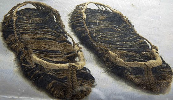 Shoes made from hemp and hair