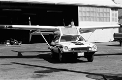 The AVE Mizar or Flying Pinto car