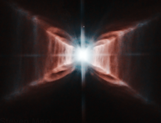 Red Rectangle Nebula (also known as HD 44179)