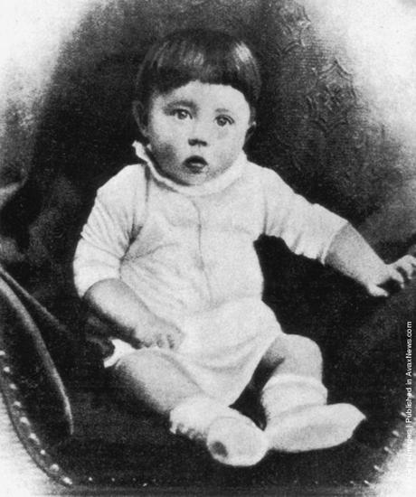 Hitler as a baby