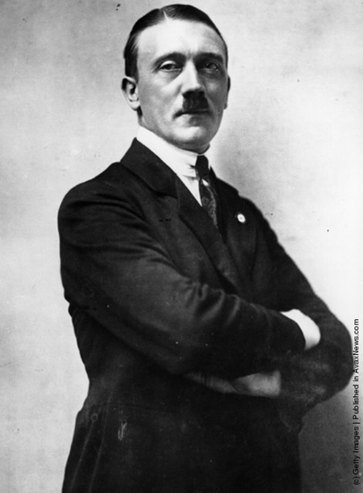 Hitler as leader of the National Socialist German Worker's Party